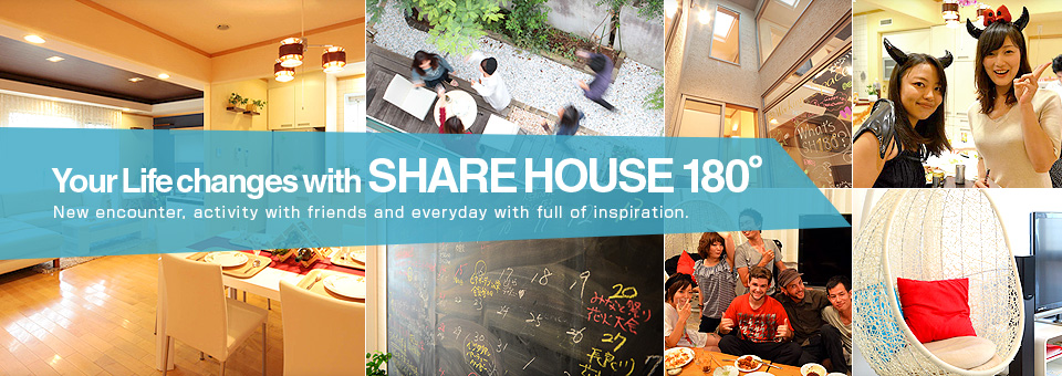 SHAREHOUSE180°