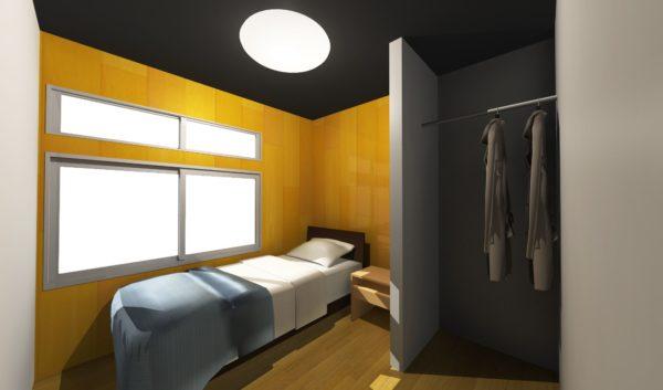 シェアハウス180°岐阜の居室